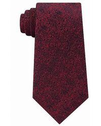 Calvin Klein - Mens Silk Printed Neck Tie - Lyst