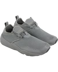 84ad5d0954 Lyst - PUMA Stampd Trinomic Woven Casual Athletic & Sneakers in Gray ...