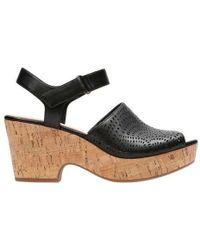 Clarks - Maritsa Nila Wedge Sandal - Lyst
