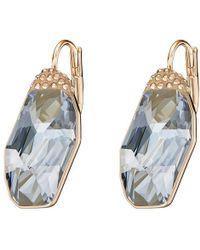 Swarovski - Folio Pierced Earrings - 5225833 - Lyst