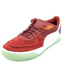 53d3a8a87bc5 PUMA - Alexander Mcqueen By Brace Lo Men Us 10.5 Burgundy Sneakers - Lyst