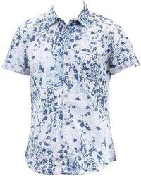 CALVIN KLEIN 205W39NYC - Men's Botanical Print Button-front Shirt - Lyst