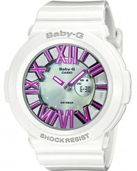 G-Shock   Watch Baby-g Bga-160-7b2er Women ́s Silver   Lyst