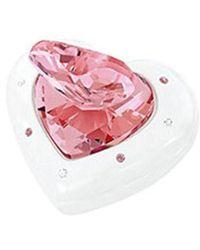 Swarovski - 5063344 Heart Box - Pink - Lyst