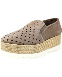 879d534e02d Steve Madden - Koreen Suede Taupe Slip-on Shoes - 10m - Lyst