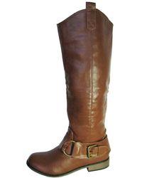 Steve Madden - Womens 'batttle' Knee-high Boot - Lyst