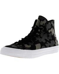 Converse - Chuck Taylor All Star Ii Hi High-top Canvas Fashion Sneaker - 14m 12m - Lyst