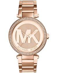 Michael Kors - Mk5865 Parker Stainless Steel Watch - Lyst