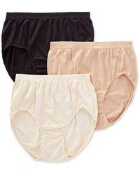 e1d168bf0 Bali - Dfak88 Comfort Revolution Microfiber Brief Panty - 3 Pack - Lyst