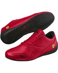 97d9ea490a3 Lyst - Puma Ferrari Evospeed Sock Rosso Corsa   Black Ankle-high ...