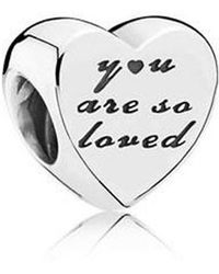 PANDORA - You Are So Loved Charm - 791730 - Lyst