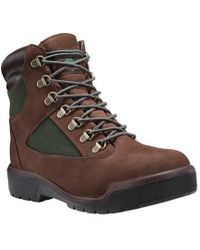 Timberland - Field Boot 6' Fabric And Leather Waterproof Boot - Lyst