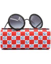 9ecd25669a1 Lyst - Dolce   Gabbana Eyeglasses Dg 3107 501 Black in Black