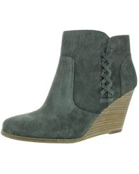 Jessica Simpson - Charee Wedge Ankle Booties Boots - Lyst