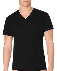 Calvin Klein - Cotton T-shirt 3-pack - Lyst