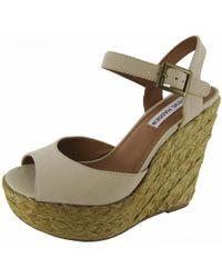 848651d16f20 Steve Madden - Womens  chieeff  Platform Wedge Sandal Shoe - Lyst