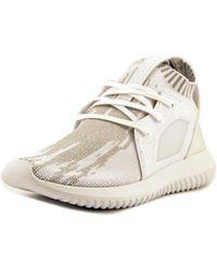 lyst adidas originali tubulare defiant donne noi scarpe bianche