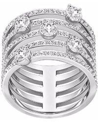 Swarovski - Creativity Crystal Ring - Lyst
