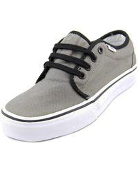 87fac7ac26 Lyst - Vans Unisex 159 Vulcanized (t l) White Skate Shoe 4.5 Men Us ...