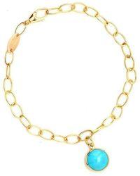 Syna - 18kt Turquoise Bracelet - Lyst