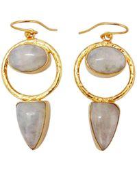 Bhagat Jewels - 18kt Matte Gold Vermeil Ra - Lyst