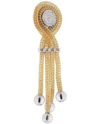 Franco Piane Designed By Franco Pianegonda Sweet Ripples Earrings - Metallic