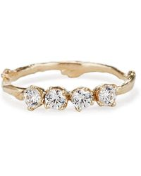 Olivia Ewing Jewelry - Diamond Garland Ring - Lyst