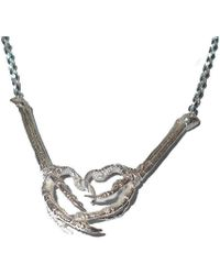 Tracy Hills Jewellery - Sterling Silver Bird Claw Necklace - Medium Claw - Lyst
