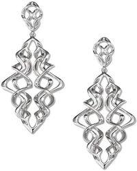 Its Silver - Earrings Belize - Lyst