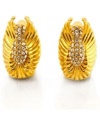 BuDhaGirl - Golden Angel Wing Guidance End Caps | - Lyst
