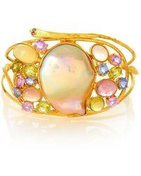 Alexandra Alberta - Sedona Baroque Pearl Bracelet - Lyst