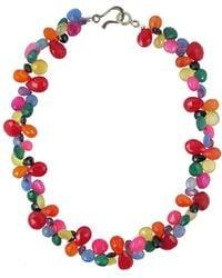 Katie Bartels Jewelry Soledad Necklace - Red