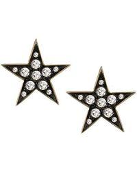 London Road Jewellery - Portobello Yellow Gold Rose Cut Diamond Star Starry Night Earrings - Lyst