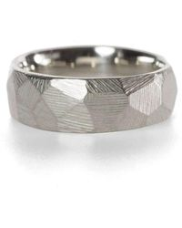 Kendra Renee - Faceted Wedding Band - Lyst