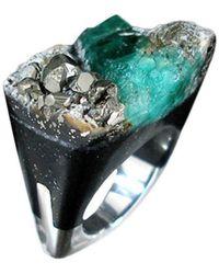 Pasionae - Emerald Ring - Distress - Lyst