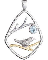 Gallardo and Blaine Designs - Bird Pendant - Lyst
