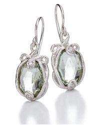 Brigitte Adolph Jewellery Design - Undinchen White Gold Earrings - Lyst