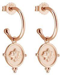 Murkani Jewellery Rose Gold Blooming Earrings - Multicolor