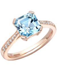 Robert Bicknell Fine Jewellery The Blue Aquamar
