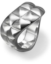 Its Silver - Ring Siena - Lyst
