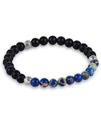 Atolyestone London - Agate Beaded Bracelet - Micro - Lyst