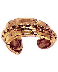 Katherine LeGrand Custom Goldsmith - 14kt Rose Gold Feather Beaded Ear Cuff - Lyst