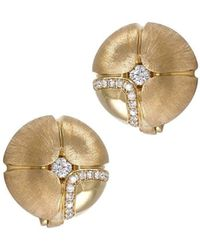 LO COCO AND KUBPART - Lilac Earrings Yellow Gold - Lyst