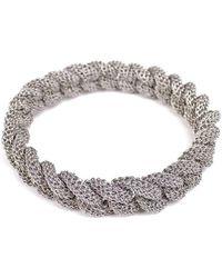 Tove Rygg - Goddess Link Twist Bracelet Thin - Lyst