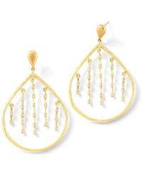 Sandy Leong - Rain Drop Earrings - Lyst