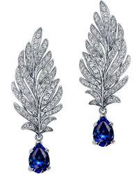 Chekotin Jewellery - Angel Sapphire Earrings - Lyst