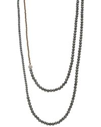 Faystone Vega Necklace - Natural