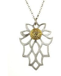 Sima Vaziry - Bloom Gold Necklace - Lyst
