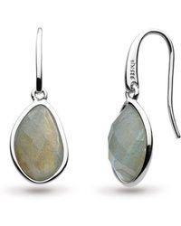 Kit Heath - Coast Pebble Earrings - Lyst