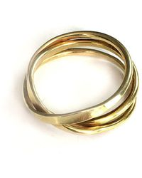 Fran Regan Jewellery Vermeil Cosmic Ring 5 Tier - UK K 1/2 - US 5 3/8 - EU 51 1/4 Zrcujb8gt